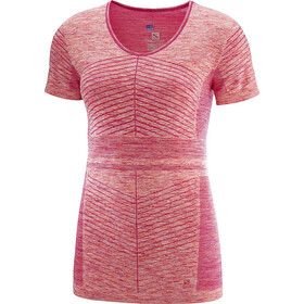 Salomon Elevate Move'On Running T-shirt Women pink